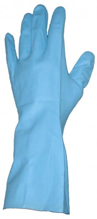 Перчатки защитные Rozenbal, с высокой степенью защиты, устойчивые к хлору. R105584R105584Латексные защитные перчатки Rozenbal позволяют обеспечить защиту рук при выполнении большинства бытовых или производственных работ.Преимущества: Защита рук от нефтепродуктов и масел;Защита рук от слабых растворов кислот и щелочей.