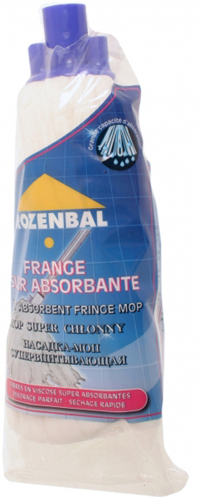 Насадка МОП Rozenbal, вискозная. R211827R211827Насадка МОП Rozenbal изготовлена из вискозы. Она прекрасно подойдет как для сухой, так и для влажной уборки. Насадка Rozenbal - это отличное приобретение для современной хозяйки.