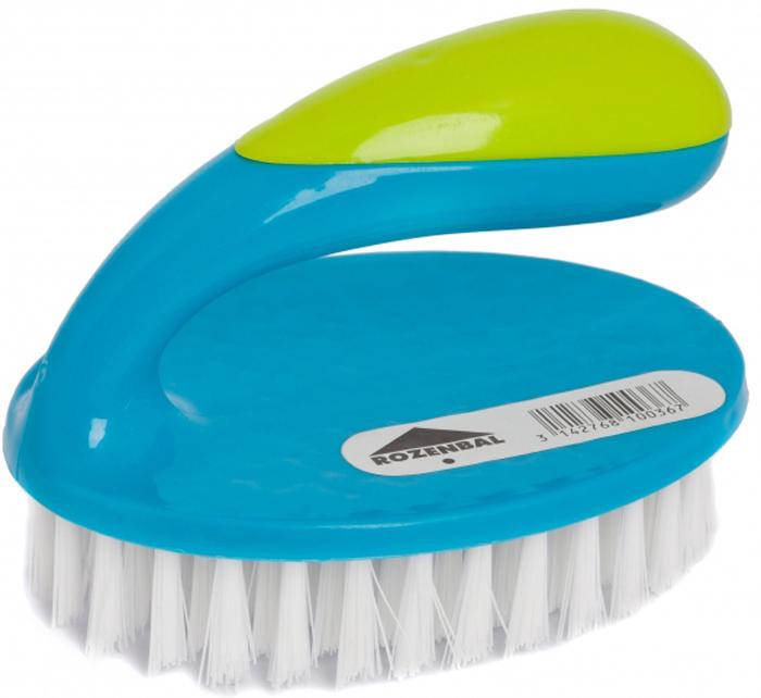 Щетка Rozenbal Basic, для пола. R810036R810036Щетка Rozenbal Basic изготовлена из пластика и предназначена для уборки в доме. Упругие и длинные волоски щетки не оставят от грязи и следа.