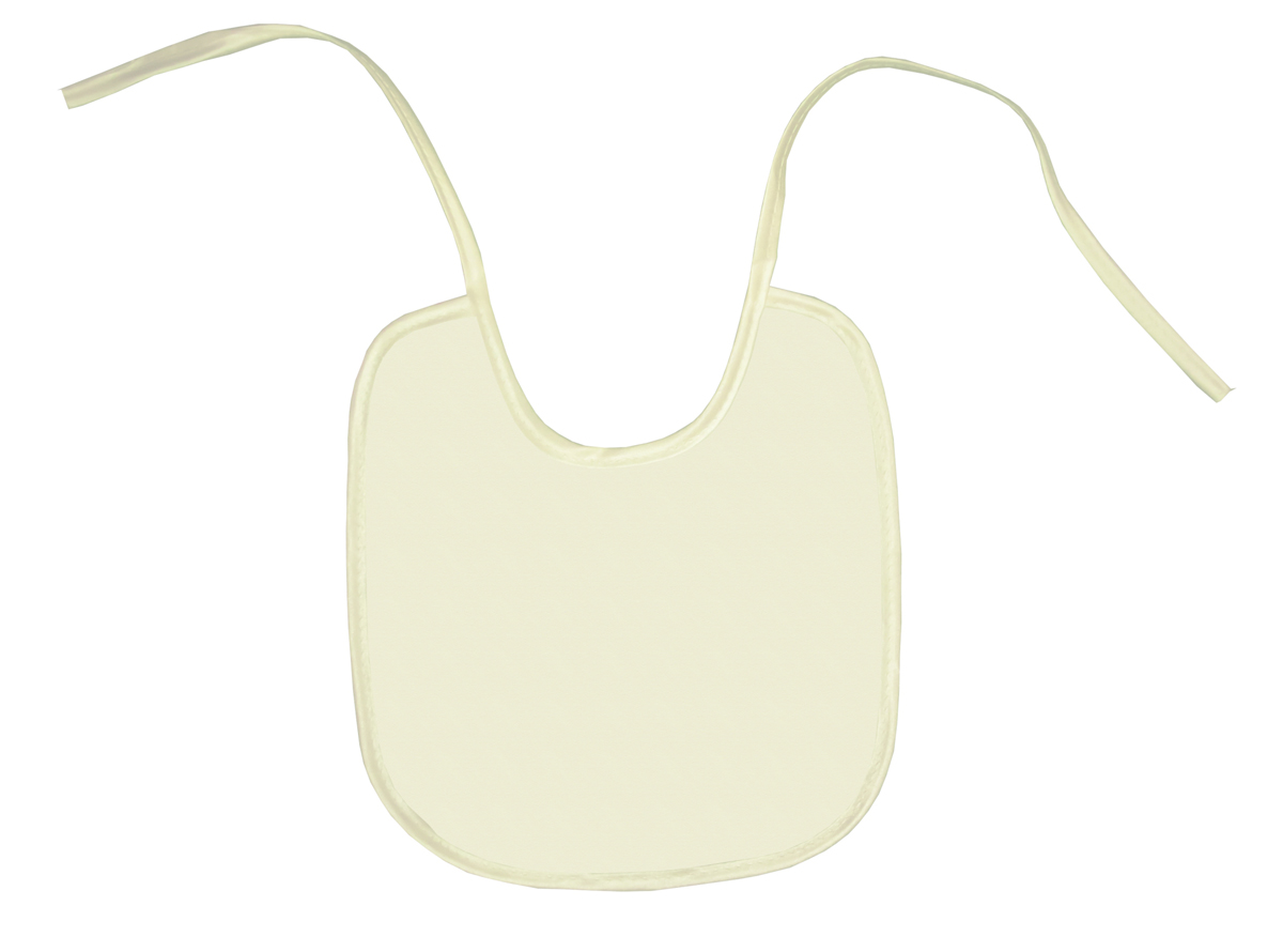 Колорит Нагрудник цвет белый 20 х 22 см 0085 -  Все для детского кормления