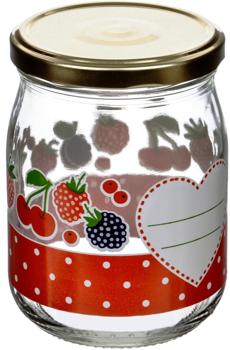 Банка для сыпучих продуктов Cerve Дафна, 500 млCEM65970Банки Cerve итальянского производства изготовлены из прозрачного толстостенного стекла. Декорированы яркими рисунками овощей, ягод и фруктов. Банки имеют закручивающиеся крышки из пищевой жести, покрытой пищевым лаком и эмалью. Деколи стойки к истиранию и со временем не будут ржаветь.