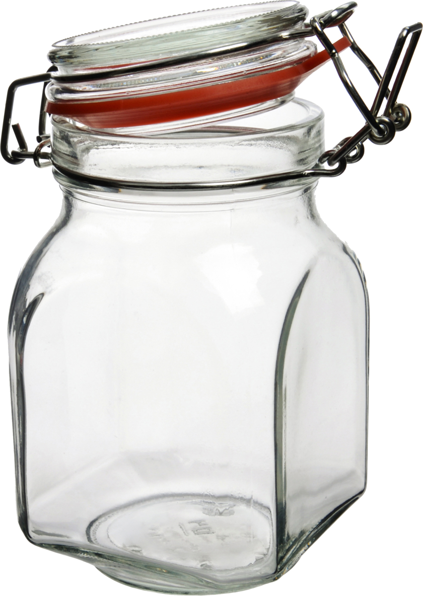 """Банка для сыпучих продуктов """"Оптима"""" изготовлена из стекла.Стекло является инертным материалом, поэтому стеклянная упаковка является самой экологически чистой как для жидких, так и для сыпучих продуктов. В бытовом смысле требования к стеклянной посуде достаточно просты: если это емкость для сыпучих или банка для консервирования, она должна быть удобной по форме, гладкой, прозрачной, прочной и хорошо закрываться. Банка имеет стеклянную крышку с бугельным замком, обеспечивающим максимальное соединение крышки с банкой. Уплотнительная пластиковая вставка защитит стекло от сколов и усилит вакуумный эффект.  Изделия из стекла без металлических деталей можно использовать в СВЧ и мыть в ПММ. Декорированную посуду желательно мыть вручную, без применения агрессивных моющих средств и жесткой фибры или абразива, могущих поцарапать стекло."""