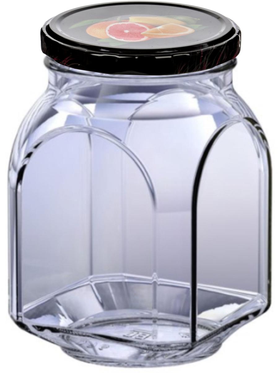 Банка для сыпучих продуктов Сергиево-посадский стеклотарный завод, 760 млOMTO-810K/82BСтекло является инертным материалом, поэтому стеклянная упаковка является самой экологически чистой как для жидких, так и для сыпучих продуктов. В бытовом смысле требования к стеклянной посуде достаточно просты: если это емкость для сыпучих или банка для консервирования, она должна быть удобной по форме, гладкой, прозрачной, прочной и хорошо закрываться. Банки имеют металлические закручивающиеся крышки. Изделия из стекла без металлических деталей можно использовать в СВЧ и мыть в ПММ.