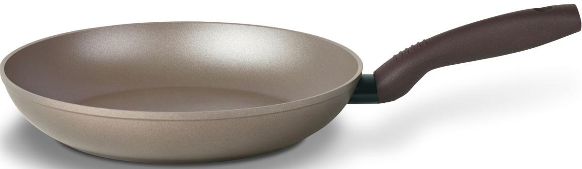 Сковорода TVS Gustosa, с антипригарным покрытием. Диаметр 28 см сковороды tvs сковорода tvs splendida 24 см