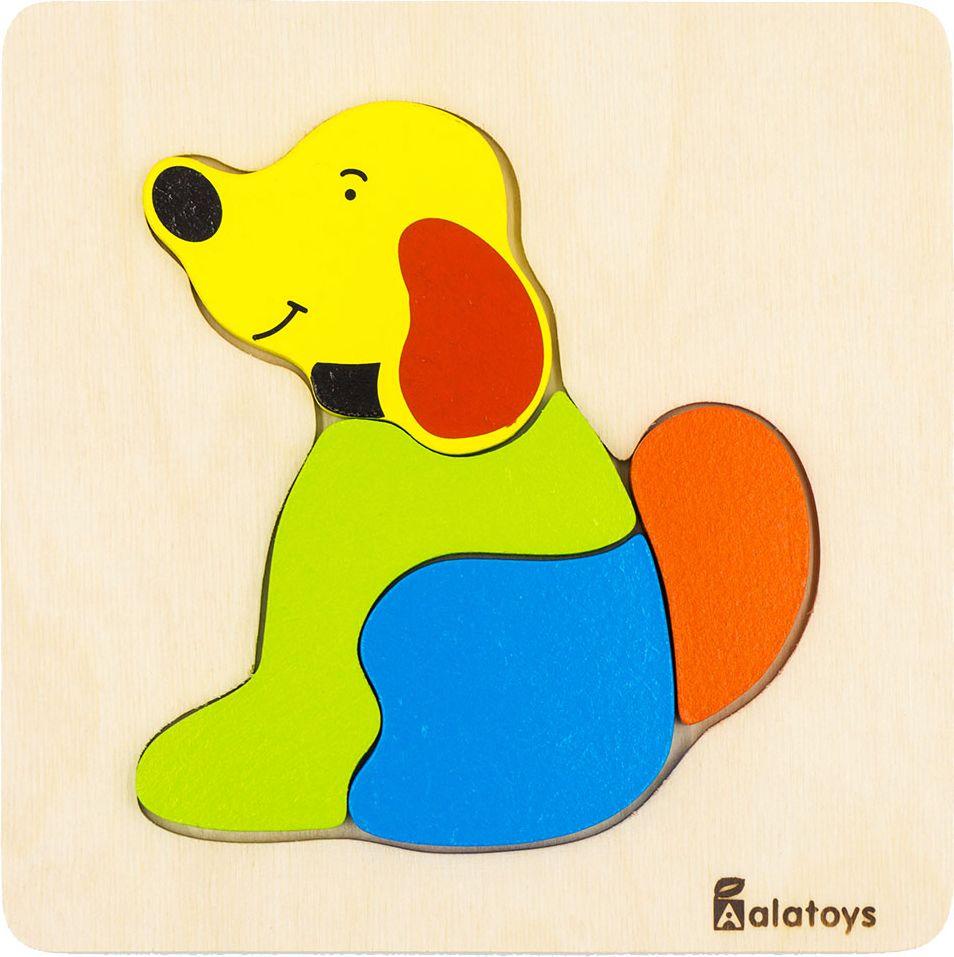 Alatoys Пазл для малышей Собачка learning journey пазл для малышей озорные фигуры 4 в 1
