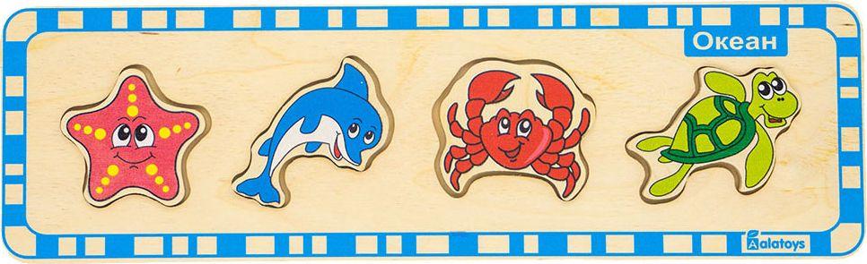 Alatoys Пазл для малышей Океан learning journey пазл для малышей озорные фигуры 4 в 1