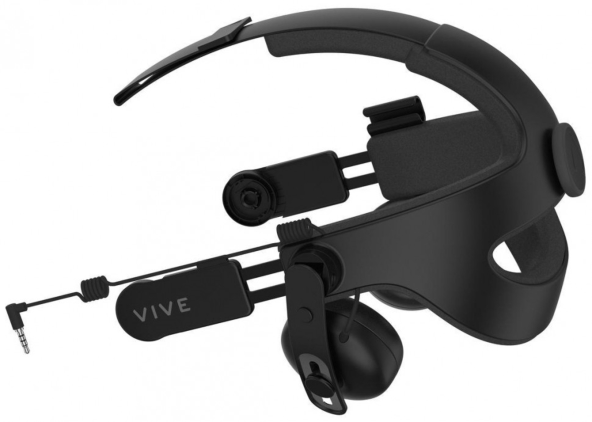 HTC Audio Strap, Black гарнитура для шлема HTC Vive
