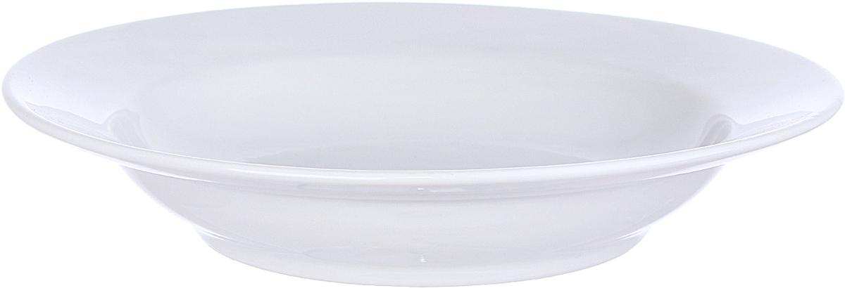 Тарелка глубокая Дулевский Фарфор Белая, диаметр 24 см. 029862029862Тарелка глубокая, с гладким краем, классической формы. Глубокая тарелка подходит для сервировки стола и подачи первых блюд. Изделие выполнено из фарфора в соответствии с ГОСТ, что говорит о высоком качестве.Тарелку можно мыть в посудомоечной машине.