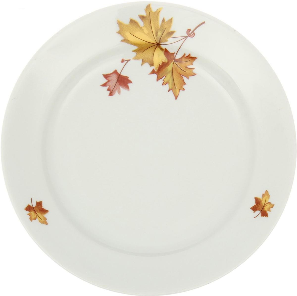 """Тарелка глубокая """"Клен"""" классической формы.Глубокая тарелка подходит для сервировки стола и подачи первых блюд.Изделие выполнено из фарфора в соответствии с ГОСТ, что говорит о высоком качестве. Тарелку можно мыть в посудомоечной машине."""