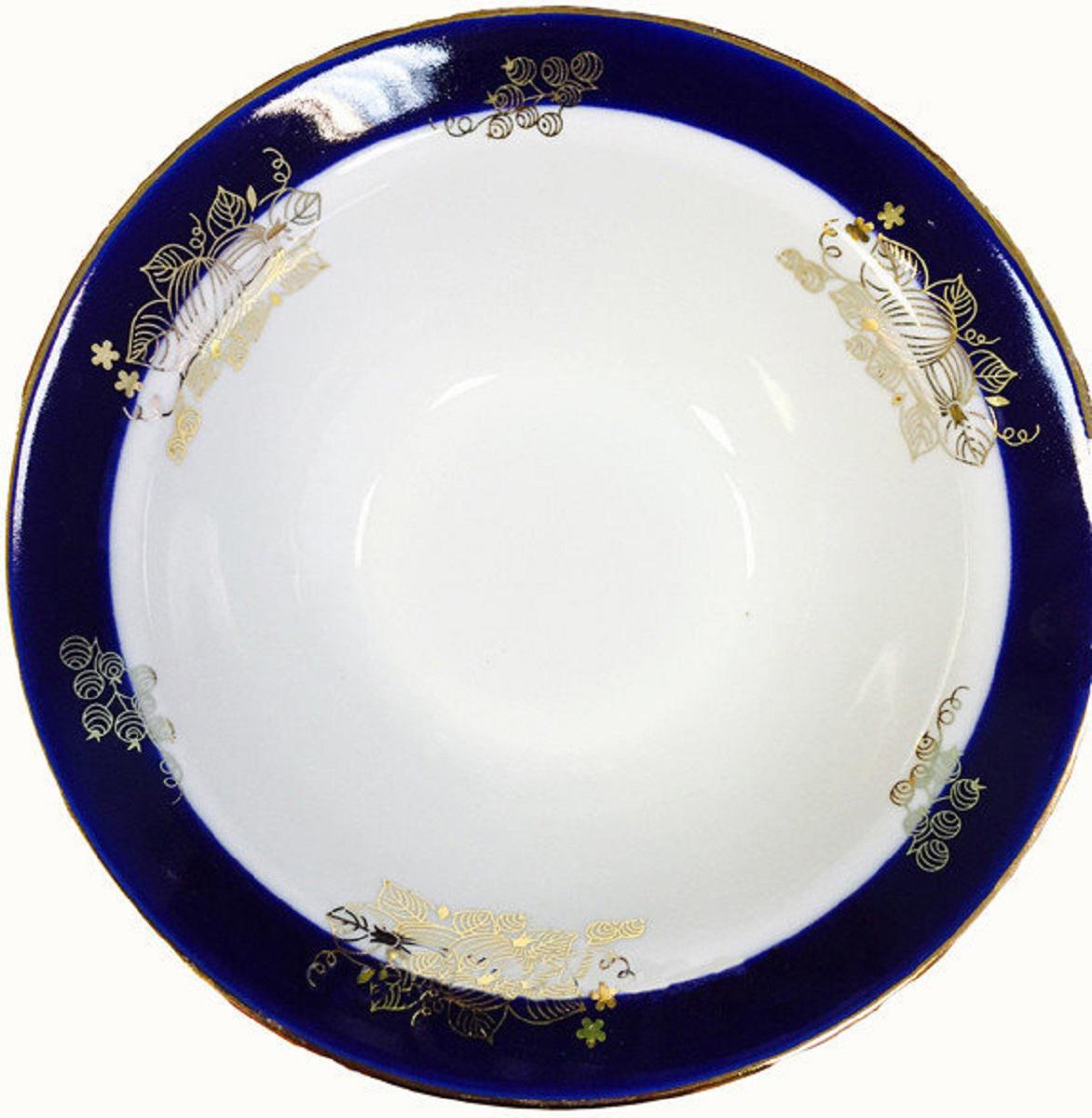 Тарелка глубокая Дулевский Фарфор Ягоды, диаметр 20 см посуда petit jour тарелка глубокая на присоске elmer