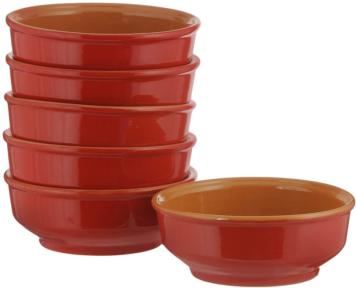 Миска Борисовская керамика Красный, 800 мл, 6 штКРС14456757С помощью набора красивых керамических мисок вы сможете очень интересно сервировать стол. Миски в современном стиле отлично впишутся в ваш интерьер. Посуда выполнена из керамики.