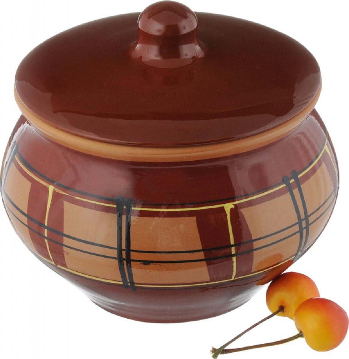 Набор горшочков для запекания Борисовская керамика Стандарт, 1,3 л, 2 шт