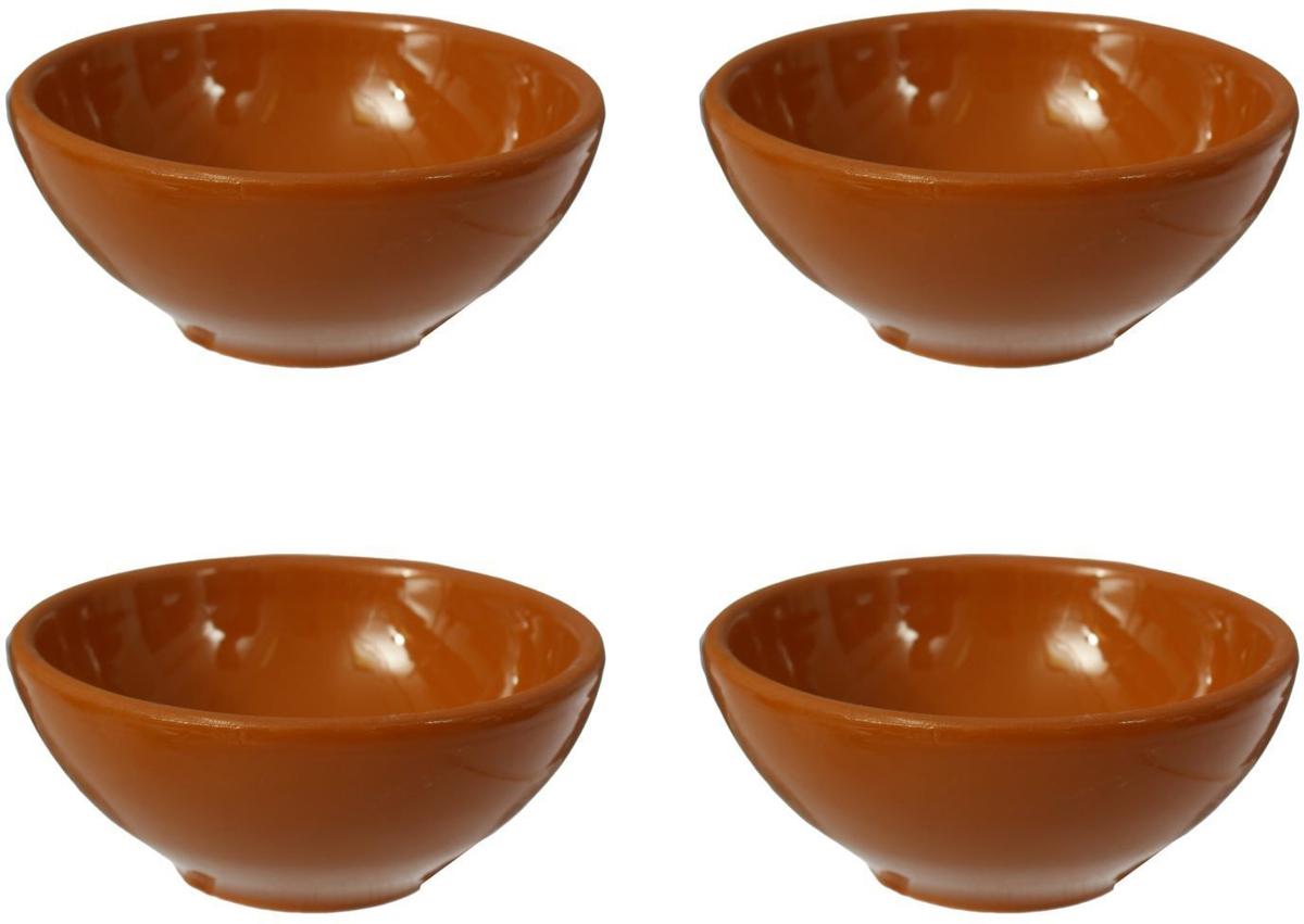 Розетка Борисовская керамика Стандарт, 200 мл, 4 штОБЧ00000113Розетка Борисовская керамика Стандарт изготовлена из керамики. Изделие отлично подойдет для подачи на стол меда, варенья, соуса, сметаны и многого другого. Такая розетка украсит ваш праздничный или обеденный стол, а яркое оформление понравится любой хозяйке.