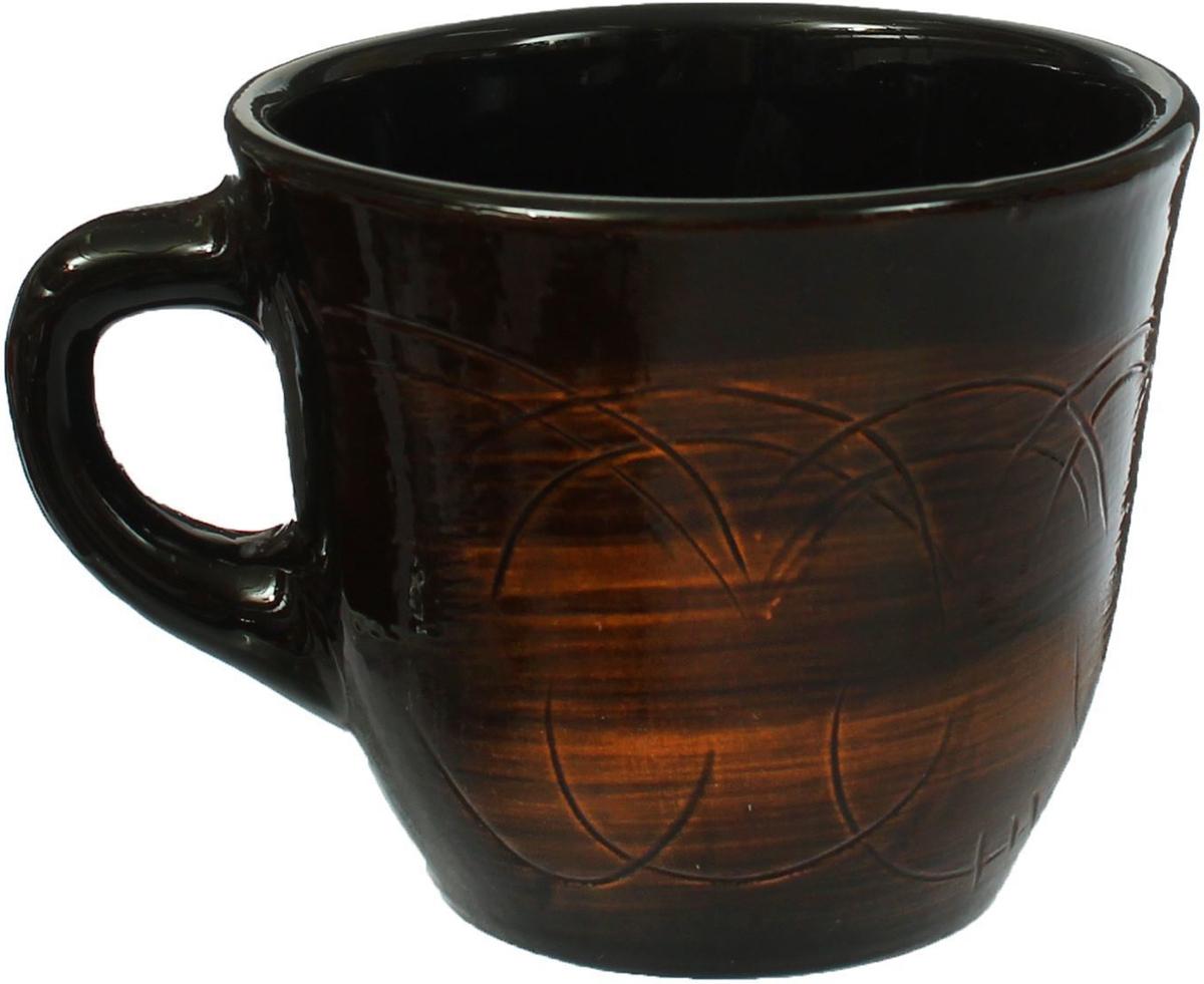 Чашка чайная Борисовская керамика Старина, 300 мл874685Удобная чашка Борисовская керамика предназначена для повседневного использования. Онавыполнена из высококачественной керамики. Природные свойства этого материала позволяютдолго сохранять температуру напитка, даже если вы пьете что-то холодное.