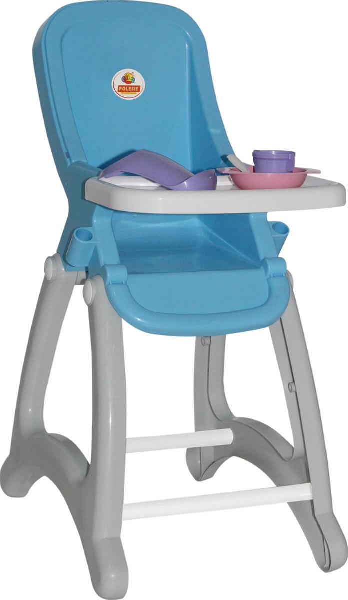 Полесье Стульчик для кукол Беби цвет белый голубой игровые наборы bayer набор для кукол стульчик кенгурушка сумка посуда