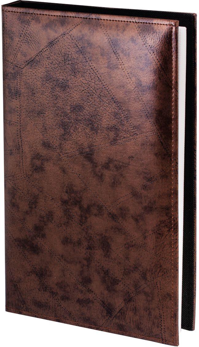 Фотоальбом Brauberg, цвет: красно-коричневый, 150+6 фотографий, 10 x 15 см390470Фотоальбом Brauberg с обложкой под кожу будет солидно смотреться как в выставочном зале компании, храня ее историю в виде фотоотчетов для сотрудников и гостей, так и в книжном шкафу, оберегая семейный архив.