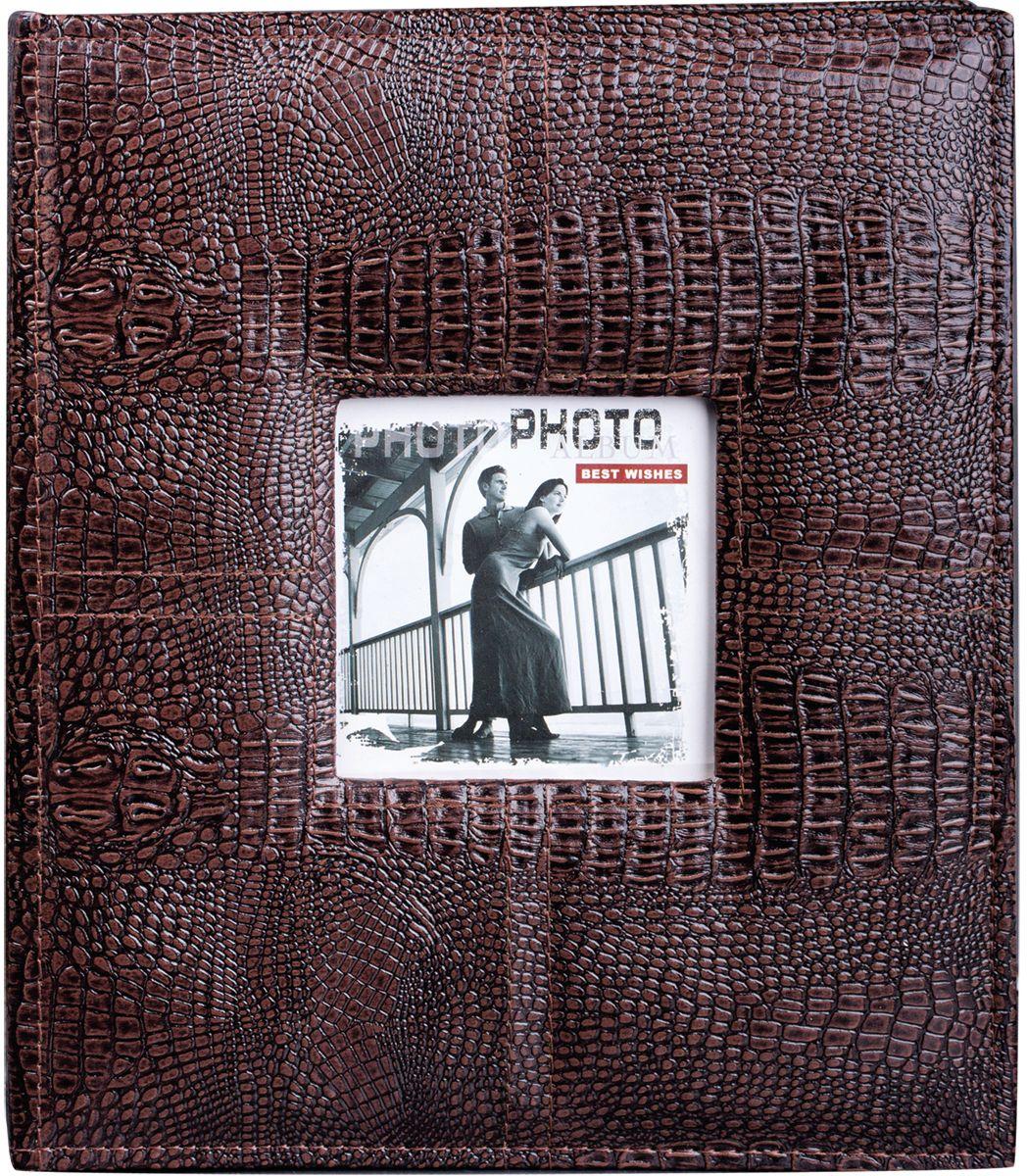 Фото - Фотоальбом Brauberg, с рамкой для фото, цвет: темно-коричневый, 20 магнитных листов, 23 x 28 см фотоальбом свадебный brauberg 20 магнитных листов 4 рамки для фото 30 x 32 см