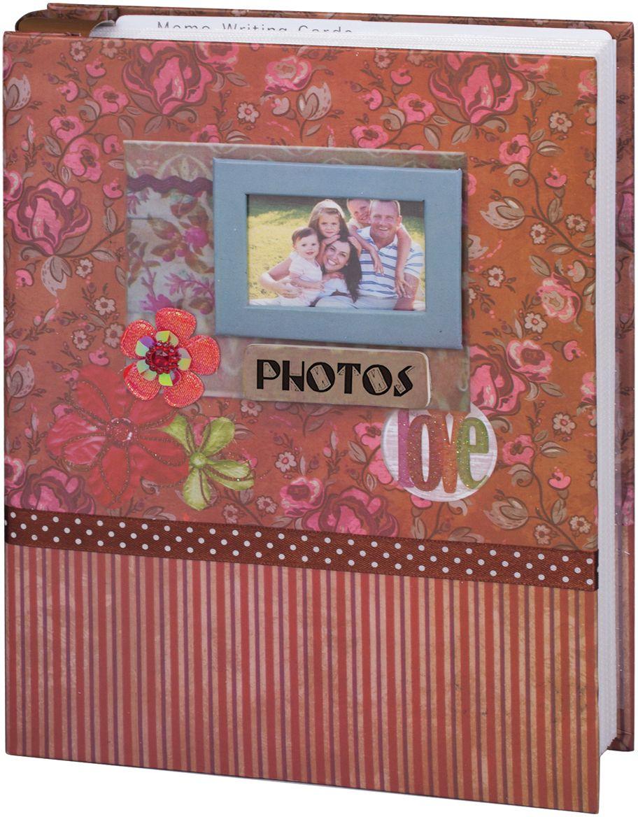 Фотоальбом Brauberg Семья, 200 фотографий, 10 x 15 см390673Фотоальбом декорирован блестящими элементами, цветком, лентой и рамкой. Предназначен для хранения семейных фото и вмещает в себя 200 фотографий размером 10х15 см, каждая из которых помещается в отдельном прозрачном кармане.