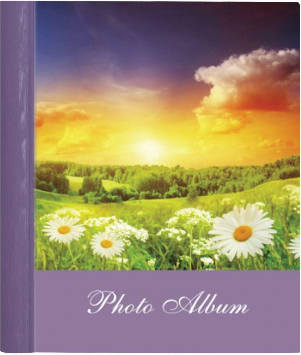 Фотоальбом Brauberg Рассвет, 10 магнитных листов, 23 x 28 см фотоальбом platinum классика 240 фотографий 10 x 15 см