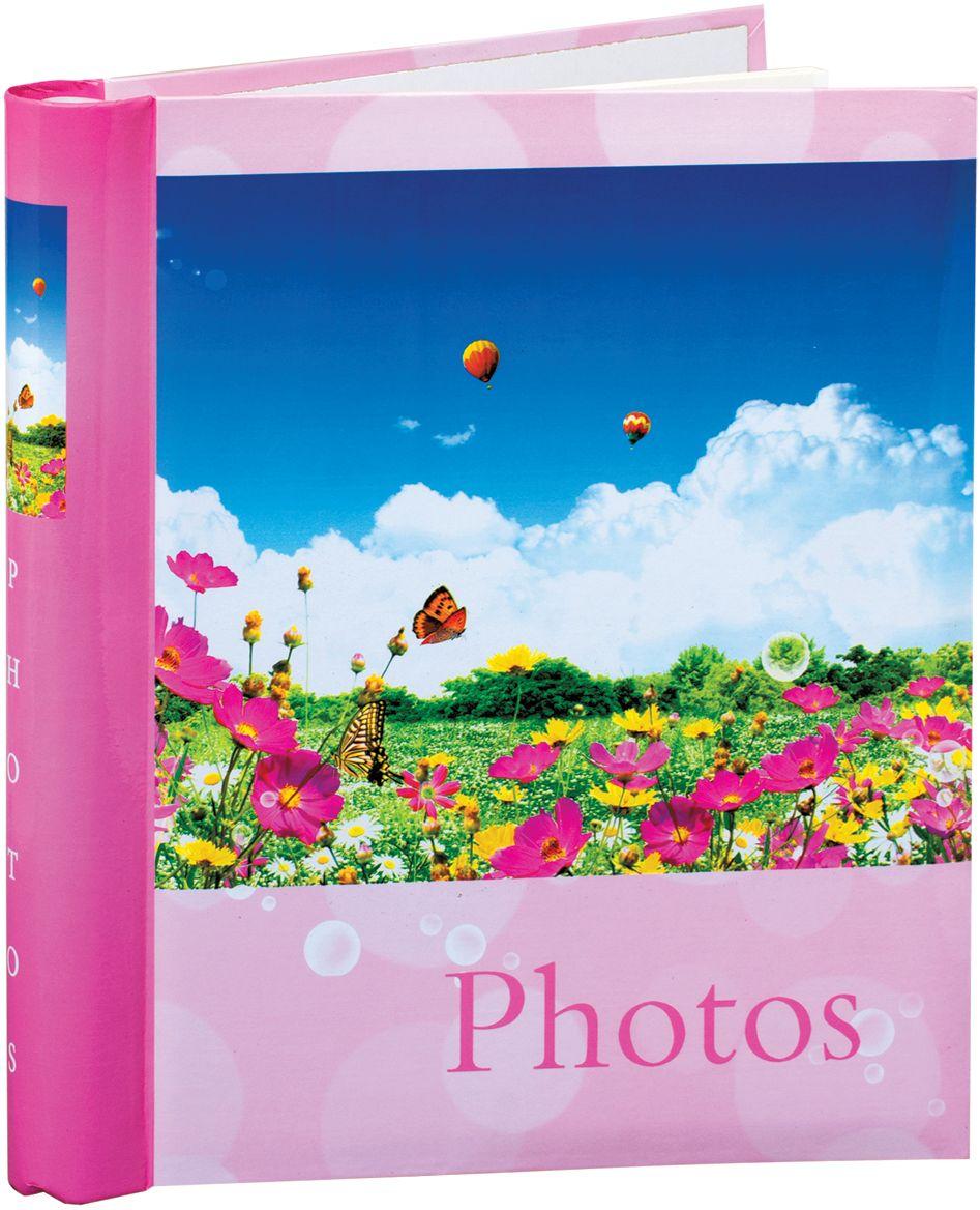Фото - Фотоальбом Brauberg Дивный луг, 20 магнитных листов, 23 x 28 см фотоальбом свадебный brauberg 20 магнитных листов 4 рамки для фото 30 x 32 см
