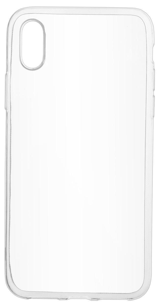 Skinbox Slim Silicone чехол-накладка для Apple iPhone X, Transparent чехлы для телефонов skinbox чехол skinbox lux apple iphone 7 plus