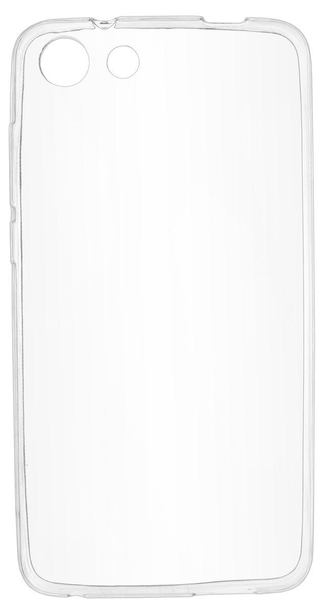 Skinbox Slim Silicone чехол-накладка для Prestigio Grace S7 LTE, Transparent чехлы для телефонов skinbox накладка skinbox slim silicone color для apple iphone 7
