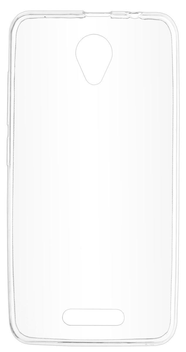 Skinbox Slim Silicone чехол-накладка для Prestigio Wize G3, Transparent сотовый телефон prestigio wize g3 wine psp3510duowine