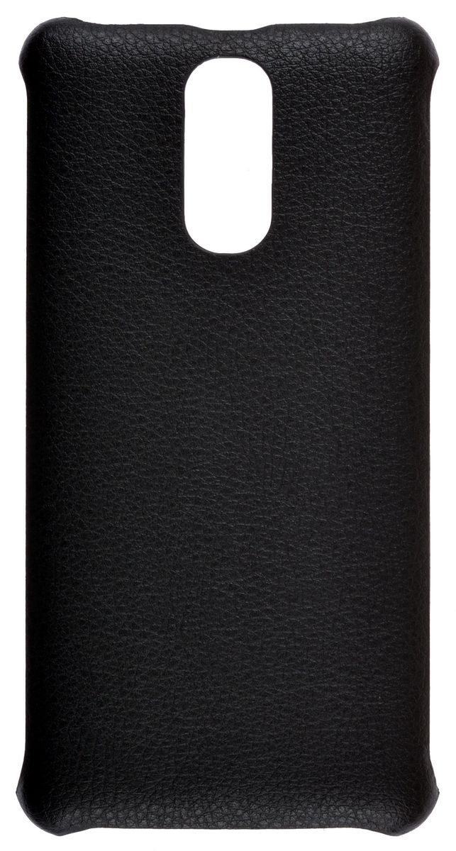 Skinbox Leather Shield чехол-накладка для Digma Power 4G CITI, Black4660041400106Накладка Leather Shield для DIGMA Power 4G CITI