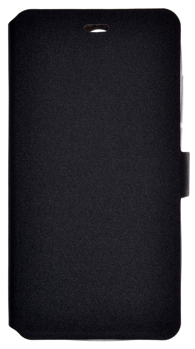 Prime Book чехол-книжка для Prestigio Muze G3, Black2000000157252Чехол-книжка Prime Book для Prestigio Muze G3 выполнен из высококачественной искусственной кожи. Он надежно фиксирует и защищает смартфон при падении. Обеспечивает свободный доступ ко всем разъемам и элементам управления.