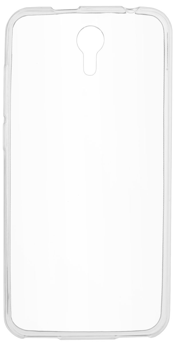 Skinbox Slim Silicone чехол-накладка для Prestigio Muze B3/B7 (PSP3511/7511) , Transparent чехлы для телефонов skinbox накладка skinbox slim silicone color для apple iphone 7