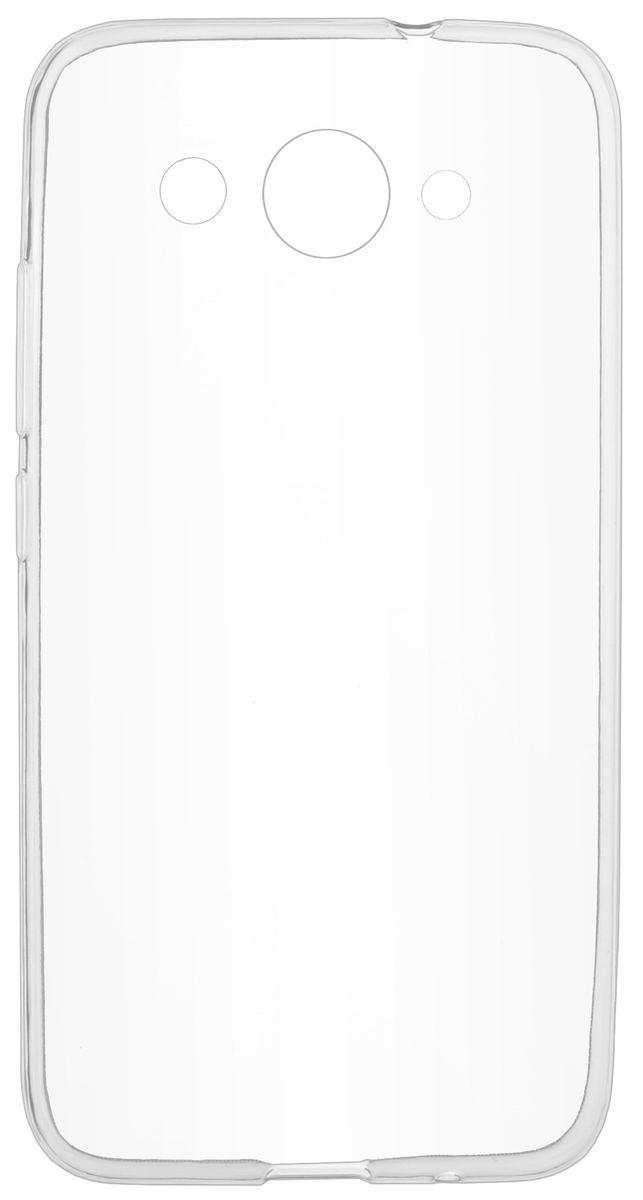 Skinbox Slim Silicone чехол-накладка для Huawei Y3 (2017) , Transparent чехлы для телефонов skinbox накладка skinbox silicone carbon для apple iphone 7