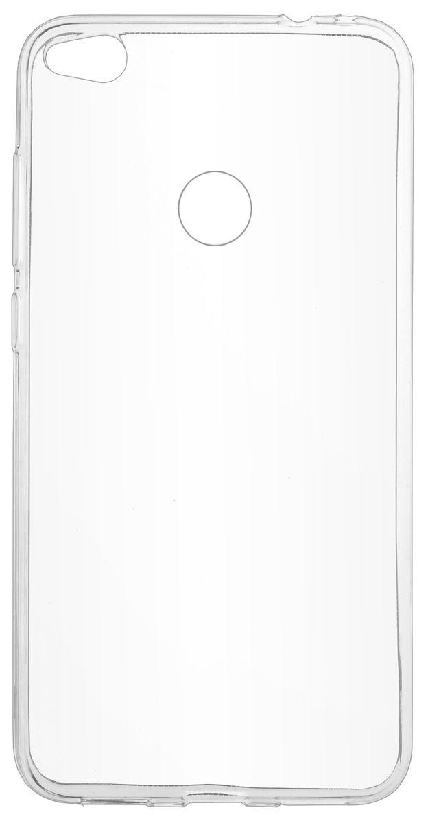 Skinbox Slim Silicone чехол-накладка для Huawei P8 Lite (2017), Transparent чехлы для телефонов skinbox накладка skinbox slim silicone color для apple iphone 7