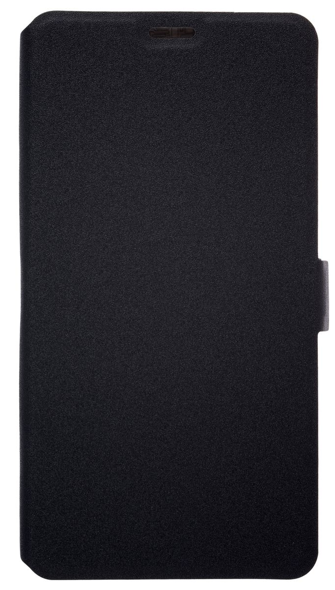 Prime Book чехол-книжка для Meizu Pro 6 Plus, Black чехол книжка для meizu mx4 pro с магнитной застежкой белый armor m