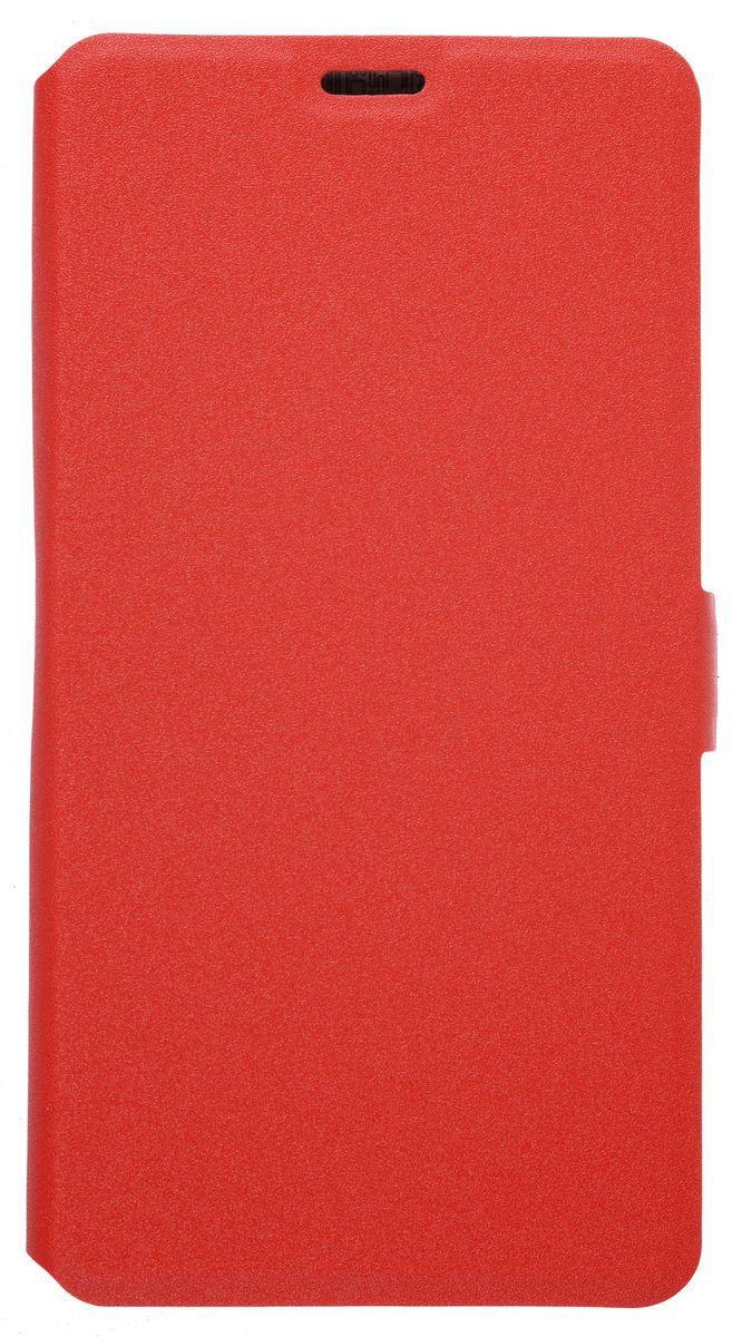 Prime Book чехол-книжка для Meizu Pro 6 Plus, Red2000000155029Чехол-книжка Prime Book для Meizu Pro 6 Plus выполнен из высококачественной искусственной кожи. Он надежно фиксирует и защищает смартфон при падении. Обеспечивает свободный доступ ко всем разъемам и элементам управления.