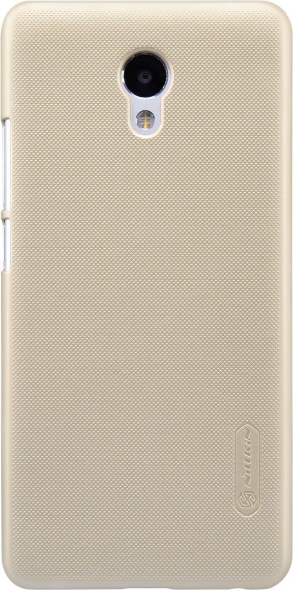 Nillkin Super Frosted Shield чехол-накладка для Meizu M5 Note, Gold чехол для смартфона htc desire 700 7088 nillkin super frosted shield черный
