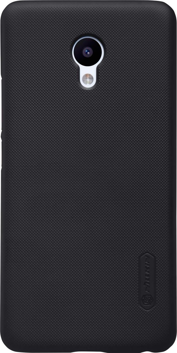 Nillkin Super Frosted Shield чехол-накладка для Meizu M5, Black nillkin super frosted shield чехол для lenovo s930 black