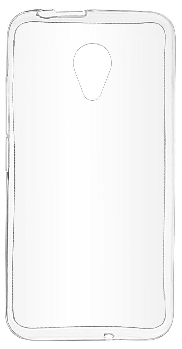 Skinbox Silicone Case чехол-накладка для Fly FS407 Stratus 6, Transparent2000000139814Накладка silicone case для Fly FS407 Stratus 6