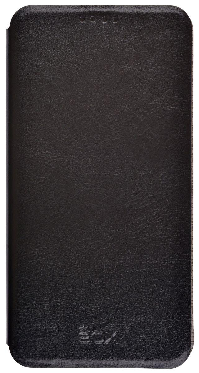 Skinbox Lux чехол-книжка для LG V20, Black skinbox lux чехол для zte blade s6 black