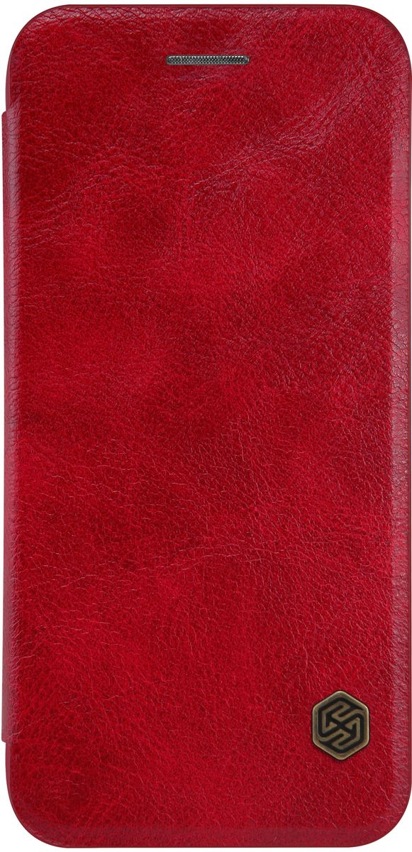 Nillkin Qin Leather Case чехол для Apple iPhone 7, Red чехол флип кейс nillkin qin для apple iphone 7 plus коричневый