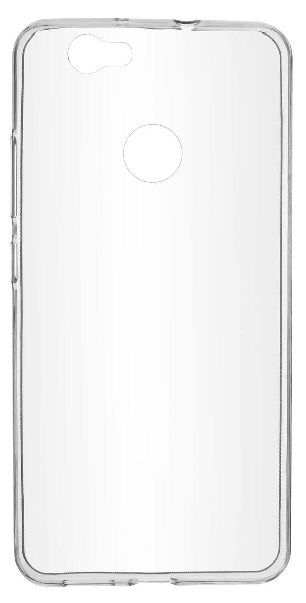 Skinbox Slim Silicone чехол-накладка для Huawei Nova, Transparent skinbox slim silicone чехол для huawei p9 plus clear
