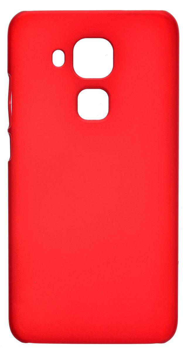 Skinbox 4People чехол-накладка для Huawei Nova Plus, Red2000000108544Накладка Shield 4People для Huawei Nova Plus