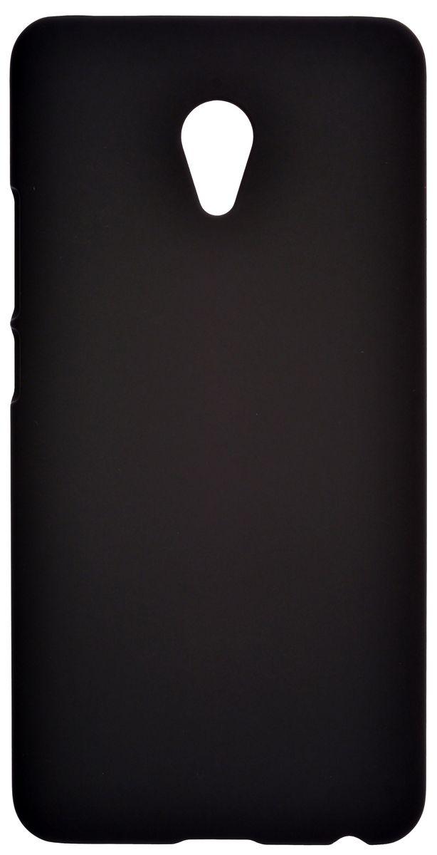 все цены на Skinbox 4People чехол-накладка для Meizu M3E, Black онлайн