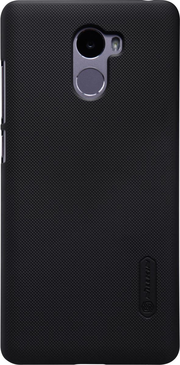 Nillkin Super Frosted Shield чехол-накладка для Xiaomi RedMi 4, Black nillkin super frosted shield чехол для lenovo s930 black