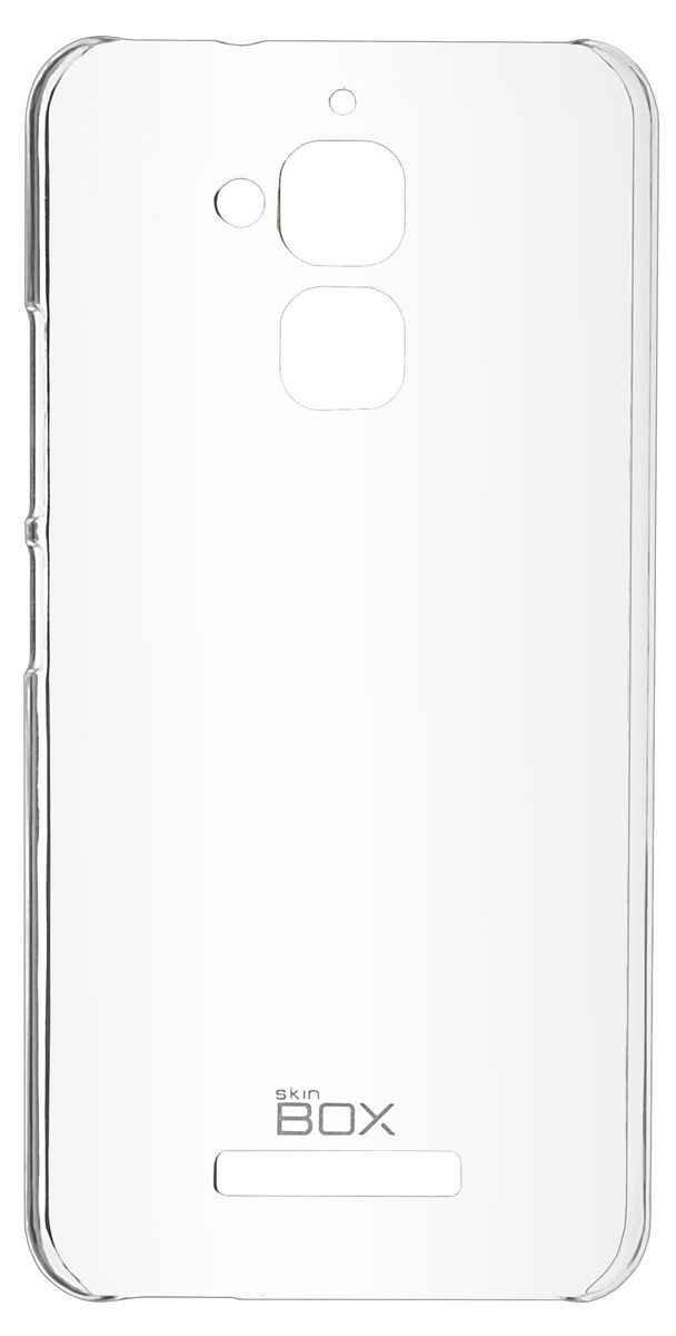 Skinbox 4People Crystal чехол-накладка для Asus Zenfone 3 Max (ZC520TL), Transparent накладка skinbox crystal 4people для sony xperia x compact skinbox