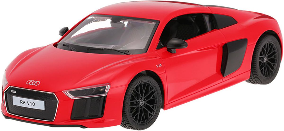 Rastar Радиоуправляемая модель AUDI R8 2015 Version масштаб 1:24 цвет красный