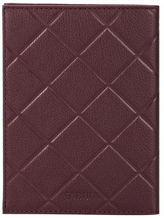 Бумажник водителя женский Fabula, цвет: бордовый. BV.83.FPНатуральная кожаМногофункциональный бумажник водителя из коллекции SOFT выполнен из натуральной кожи. Внутренний функционал: два боковых кармана из плотного прозрачного пластика, внутренний блок для водительских документов, четыре прорезных кармана для кредитных карт, мягкая, приятная на ощупь подкладка.Отличительная черта: тиснение в форме ромба.
