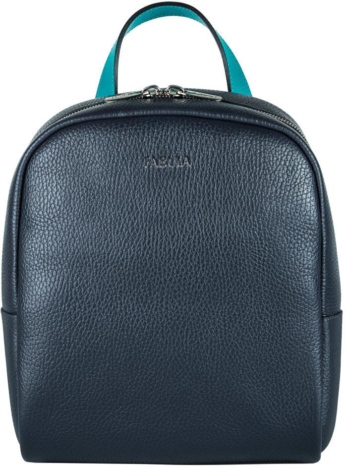 Сумка-рюкзак женская Fabula, цвет: темно-синий, бирюзовый. S.259.SN цепь велосипедная кмс z 610hx 7 8 мм для bm