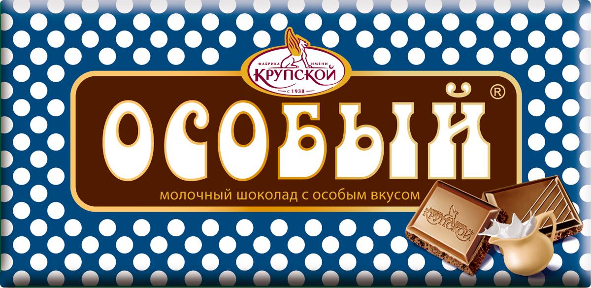Фабрика имени Крупской Особый молочный шоколад, 90 г60099Таящий во рту шоколад с нежным, насыщенным супер-молочным вкусом (готовится с использованием специального карамелизированного молока).