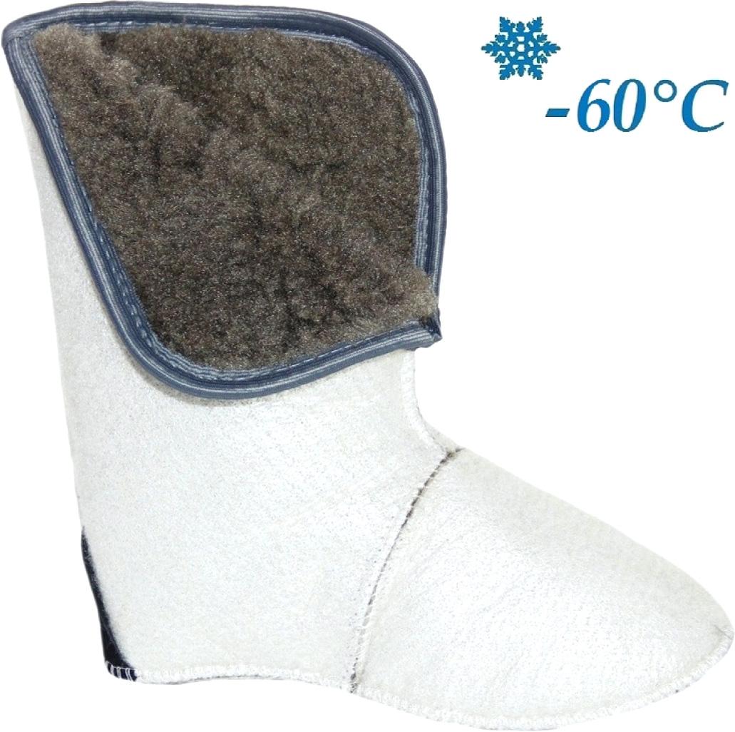 Утеплитель Дарина Ice Land, фольгированный, цвет: белый, серый. Размер 45-47
