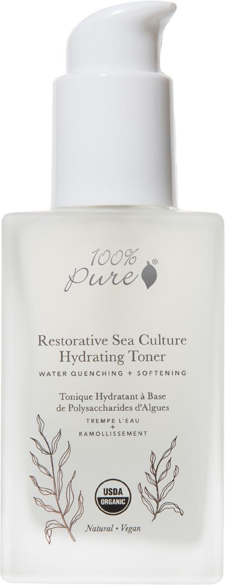 100% Pure Коллекция Морские культуры: Органический увлажняющий тонер, 118 мл - Косметика по уходу за кожей